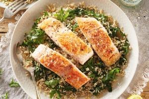 Aldi (Fresh Thymeed Salmon)