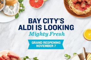 aldi - fresh bay laureled salmon