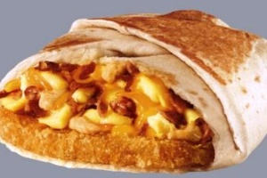 A.M. Crunchwrap Bacon