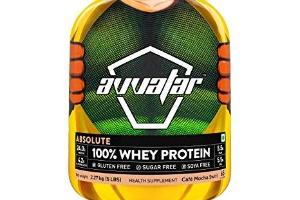 Absolute 100% whey protein caf mocha swirl, avvatar