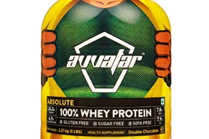 Absolute 100% whey protein double chocolate, avvatar