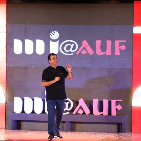 नई दिल्ली में 26 मई, 2018 को आयोजित 'नज़रिया-जो जीवन बदल दे' कार्यक्रम में साइबर विशेषज्ञ रक्षित टंडन।