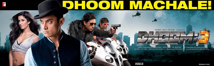 Dhoom 3 Crosses the records