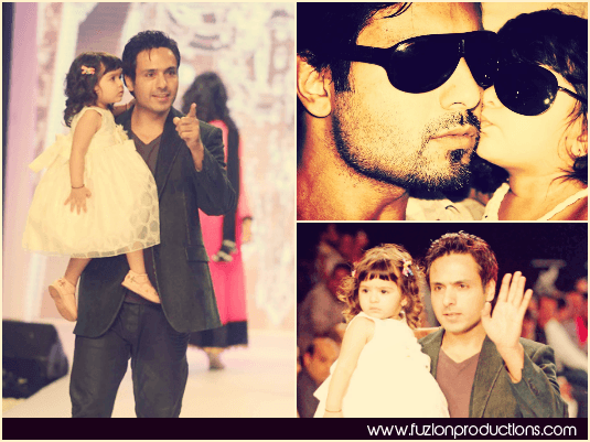 Iqbal Khan With His Daughter