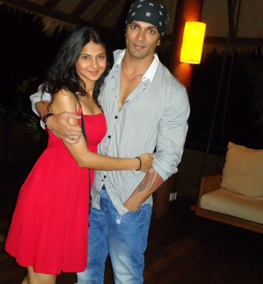 Karan Singh Grover And Jennifer Winget 2nd Anniversary