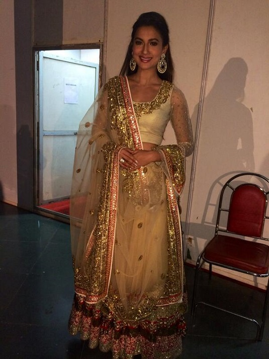 Gauahar Khan In A Fundraising Show For Cancer Patients