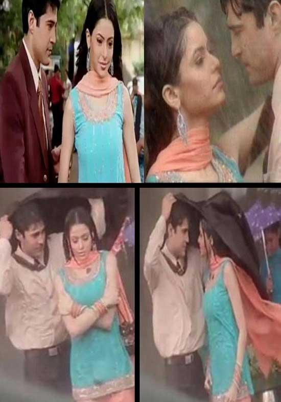Rajeev Khandelwal – Aamna Shariff as Sujal and Kashish In Kahiin To Hoga