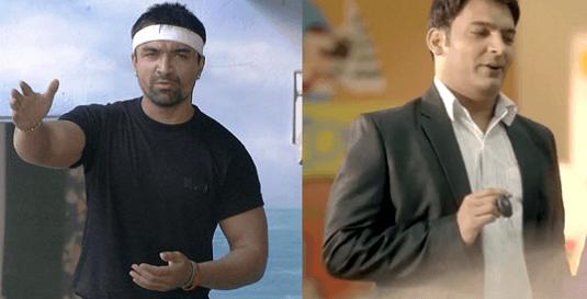 Ajaz Khan And Kapil Sharma