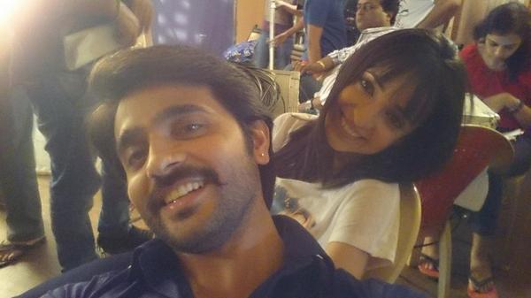 Ashish Sharma and Sanaya Irani
