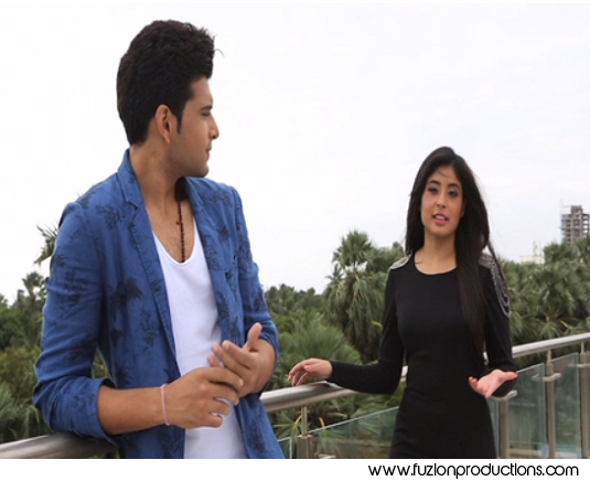 Karan and Kritika In MTV Webbed