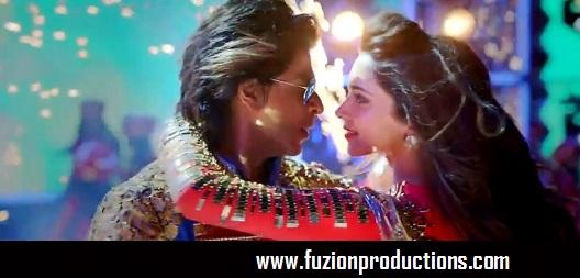 Shahrukh Khan and Deepika Padukone In Happy New Year