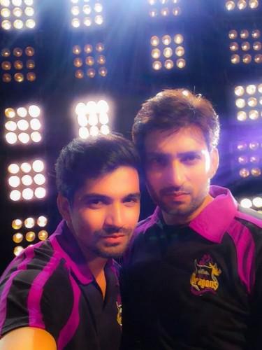 Aadesh Chaudhary and Vishal Singh
