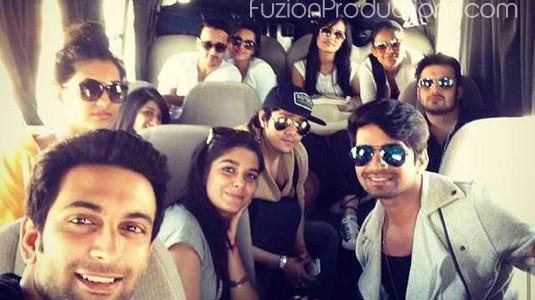 Additi Gupta, Nandish Sandhu, Vishal Singh, Nia Sharma With Anita Hassanandani, Pooja Gor, Surbhi Jyoti, Aniruddh Dave in Jordan