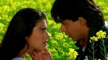 Shahrukh Khan And Kajol In Dilwale Dulhaniya Le Jaayenge