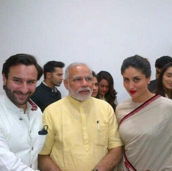 Spotted With Namo: When Actors Got Star-Struck By PM Narendra Modi