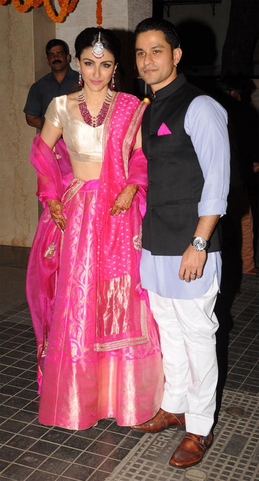 Soha Ali Khan And Kunal Khemu's Wedding Reception - PHOTOS ...