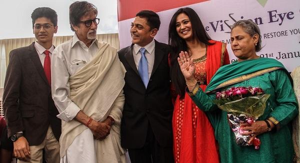 Amitabh Bachchan, Jaya Bachchan, Shweta Tiwari