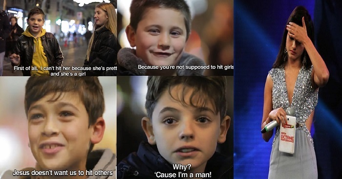 Why Should We? – Here's How Boys Reacted When Asked To Slap A Girl – WATCH VIDEO