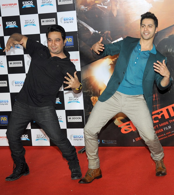 Choreographer Ahmed Khan With Varun Dhawan