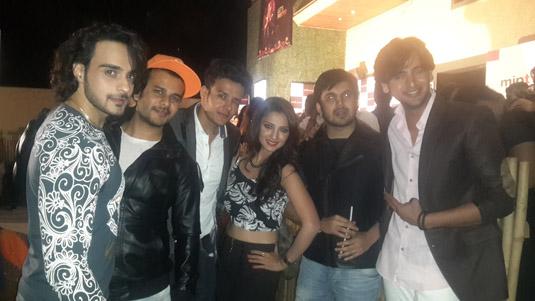 Angad, Jay Soni , Aniruddh Dave , Adaa Khan , Ajay Chaudhary and Shashank Vyas