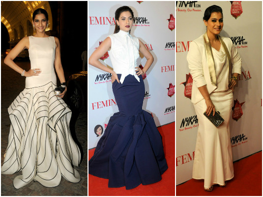 Celebs Attend Nykaa Femina Beauty Awards