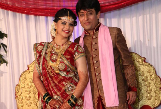 Sneha Wagh and husband Anurag Solanki