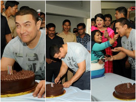 Aamir Khan's Birthday Bash