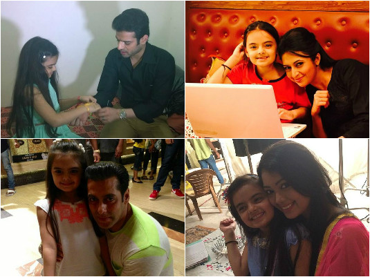 Ye Hai Mohabbatein - Ruhaanika Dhawan's Top 10 Best Clicks With Stars