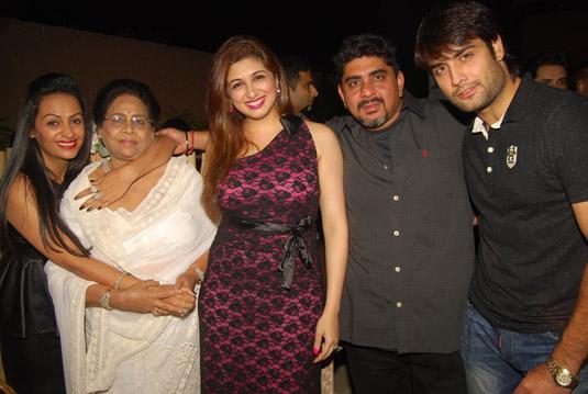 Rajan Shahi With Vivian Dsena And Vahbiz Dorabjee
