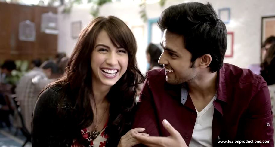 Lauren Gottlieb and Parth Samthaan In CloseUp And Cupid Games Ad