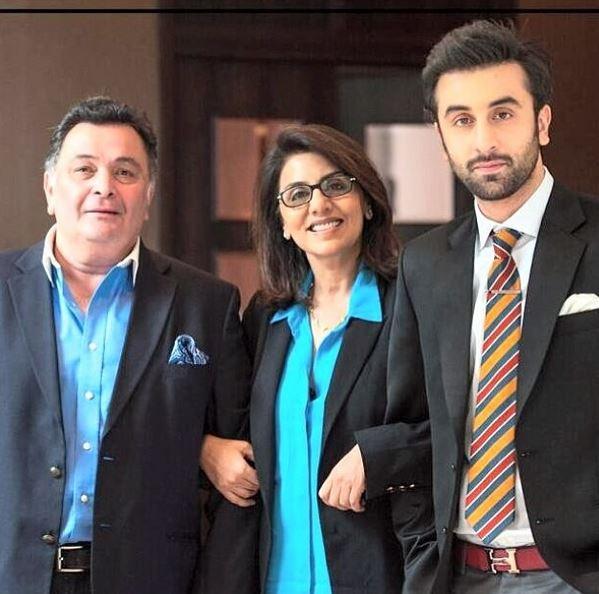 Rishi, Neetu and Ranbir