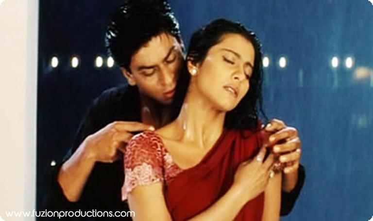 Shah Rukh Khan and Kajol in Kuch Kuch Hota Hai