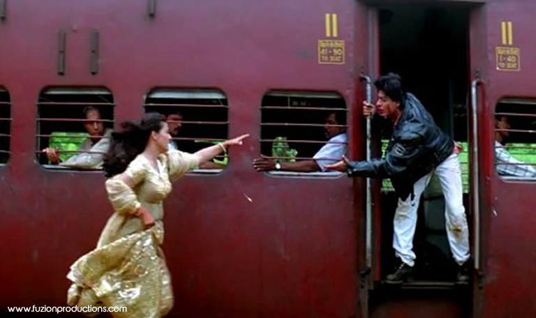 Shah Rukh And Kajol From DDLJ