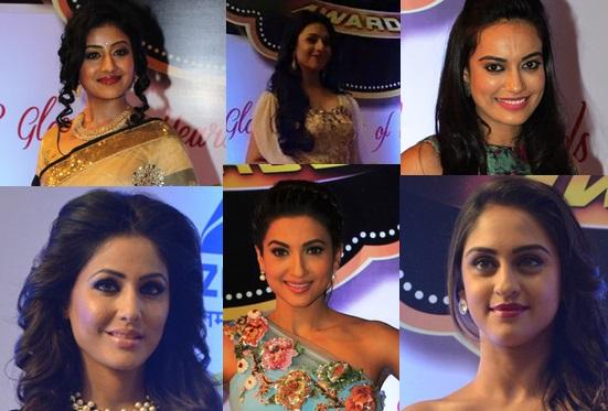 TV Actresses At Gold Awards 2015