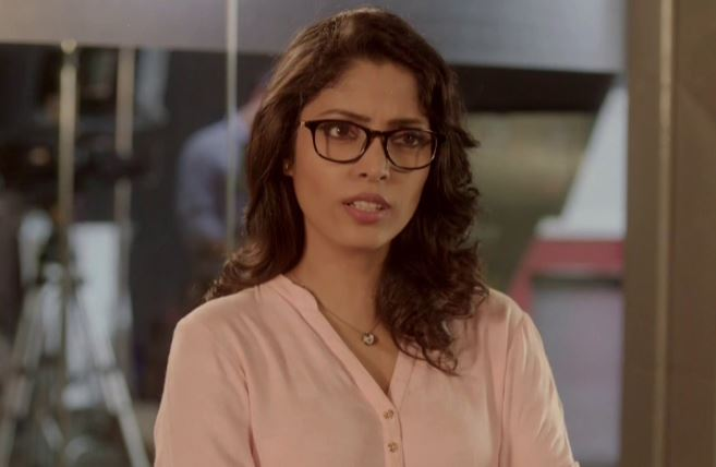 Megha Chatterjee As Malvika In Reporters