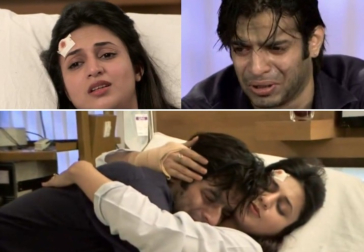 Raman And Ishita Hug In Hospital
