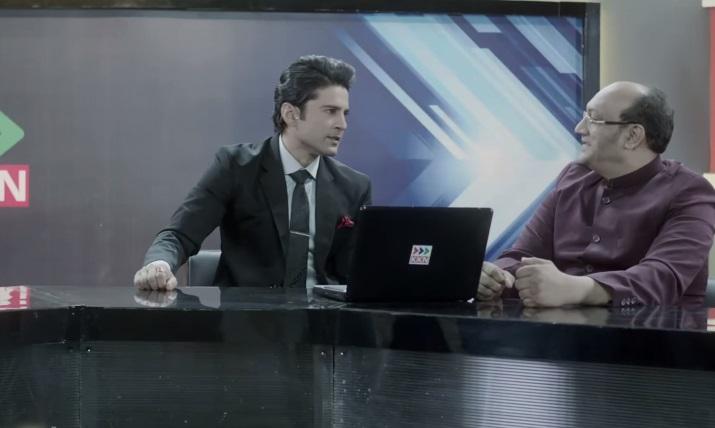Rajeev Khandelwal As Kabir Sharma In Reporters