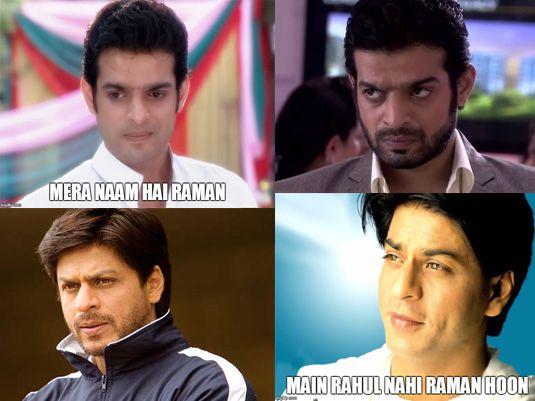 Shah Rukh Khan as Raman