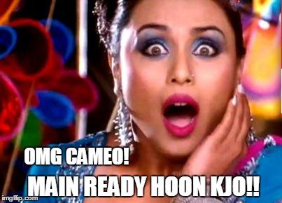 Rani Mukherjee's Cameo