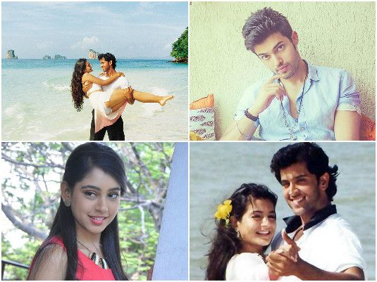 Parth Samthaan and Niti Taylor For Kaho Na Pyaar Hai