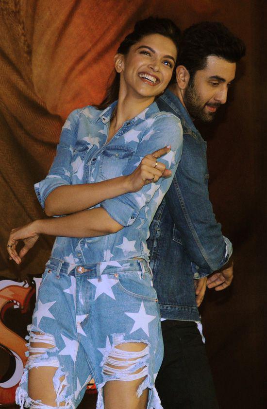 Deepika Padukone And Ranbir Kapoor Being Promotions Of ...