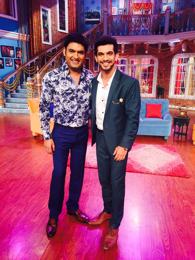 Arjun Bijlani And Kapil Sharma
