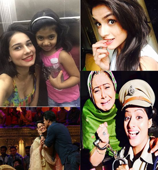 TV Actors - Top 12 Most Happy, Adorable And Memorable Moments Captured