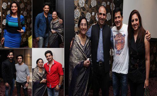 TV Celebrities Attend Bikramjeet's Special Party