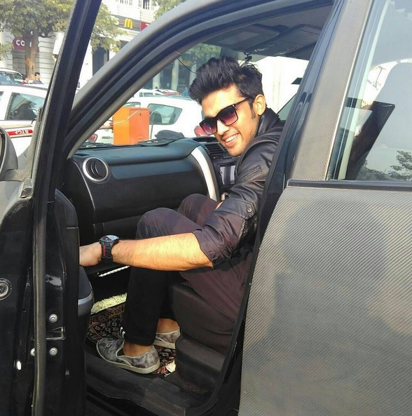 Parth Samthaan At Delhi