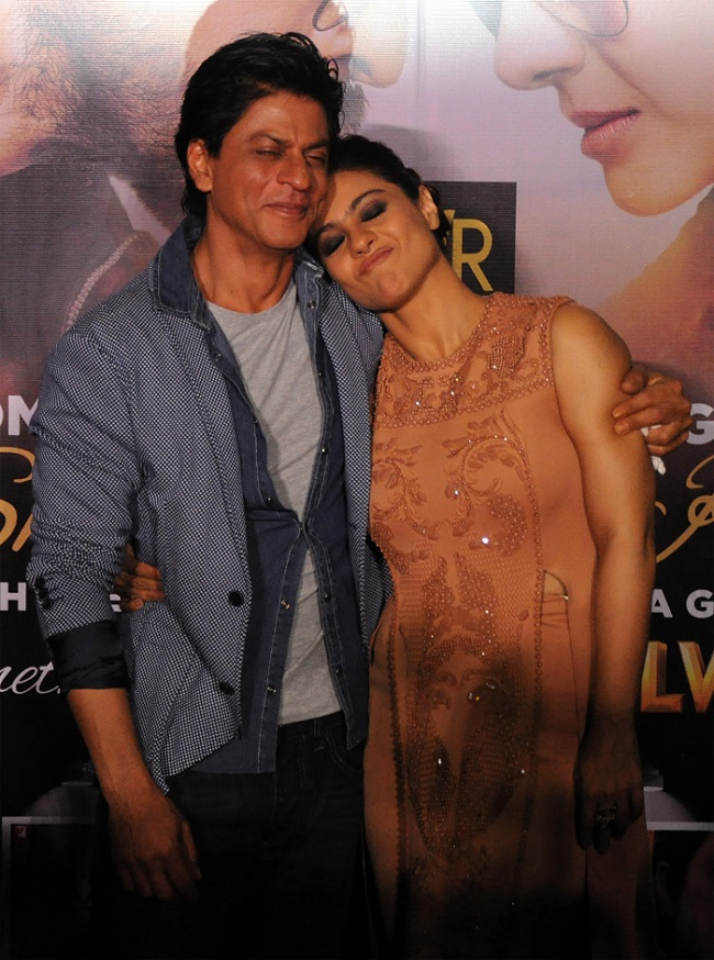 Shah Rukh And Kajol At Sneak Preview Of Dilwale