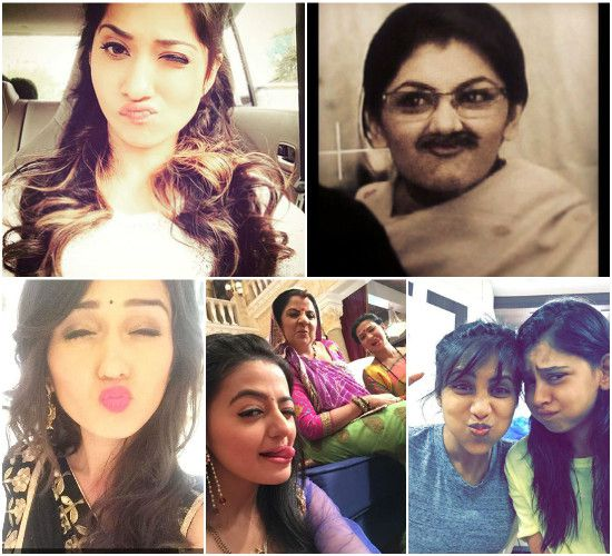 TV Actresses - Top 15 Captures Of The Stars With Weirdest Expressions