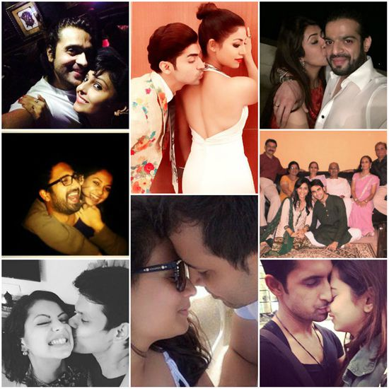 TV Actors Cozy Pictures With Their Spouses