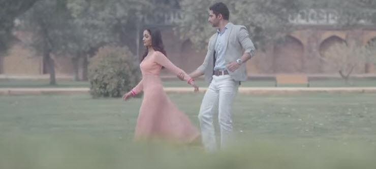 Tridha Chaudhary and Harshad Arora in Dahleez