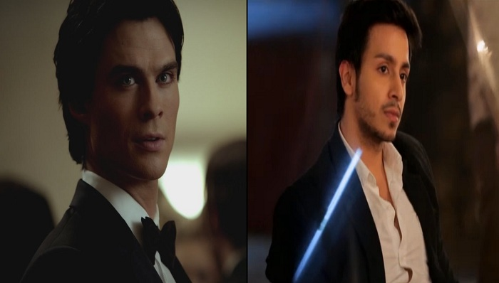 Randhir Singh Shekawat And Damon Salvatore